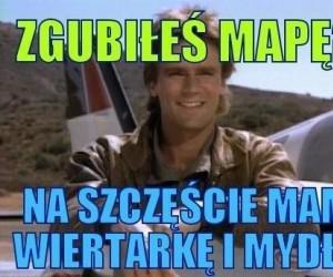 Zgubiłeś mapę?