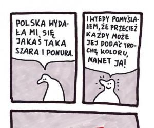 Trzeba dodać Polsce trochę koloru