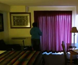 To się nazywa pokój z widokiem!