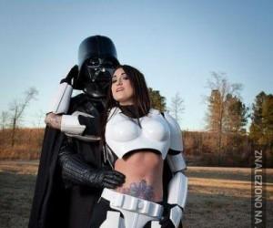 Vader znalazł sobie dziunię