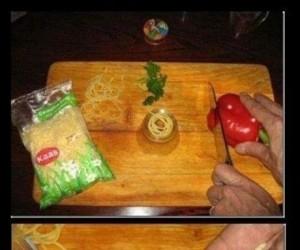 Spaghetti dla chomika