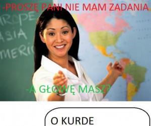 Typowy tekst nauczyciela