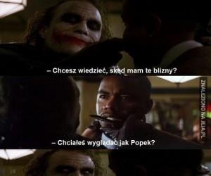 Joker, który został Popkiem