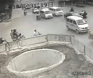Niewyspany motocyklista