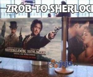 Zrób to Sherlocku!