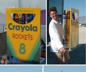 Kredkowe rakiety