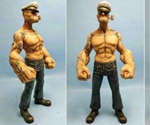 Realistyczna figurka Popeye
