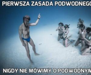 Pierwsza zasada podwodnego klubu