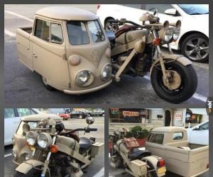 Stylowy motocykl