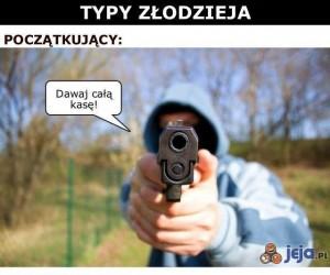 Typy złodzieja