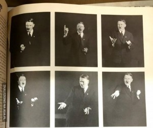 Przeglądaj dalej, to tylko Hitler ćwiczący pozy