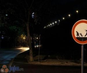 Uwaga, zombie na drodze!