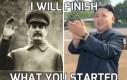 I will finish