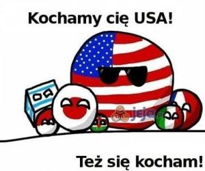 Kochamy Cię USA!