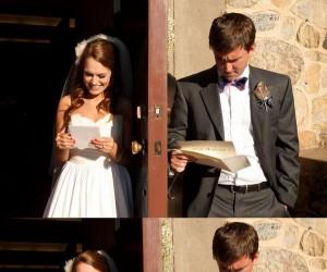 Reakcja na ślubny list miłosny