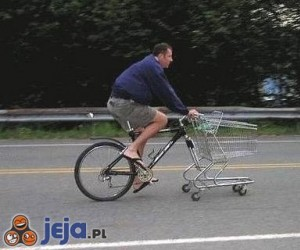 Rower na zakupy