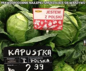 Prawdopodobnie najlepiej sprzedające się warzywo
