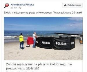 Widać, że polska policja