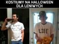 Kostiumy na Halloween dla leniwych