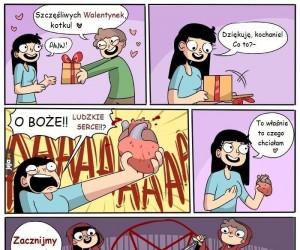 Walentynkowa ofiara