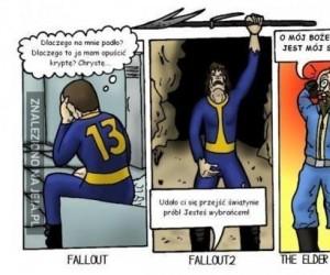 Fabuła pełna emocji w Fallout 3