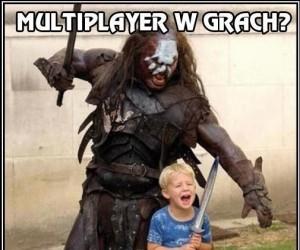 Tak wyglądam w multiplayerze