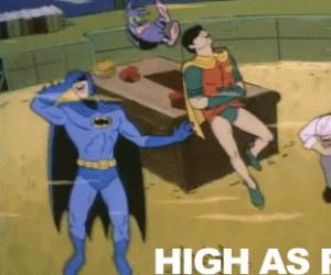 Kiedy Joker znowu nie otworzył okna paląc bongo