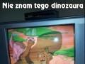 """Dziwny kształt """"dinozaura"""""""
