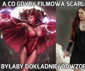 A co gdyby filmowa Scarlet Witch