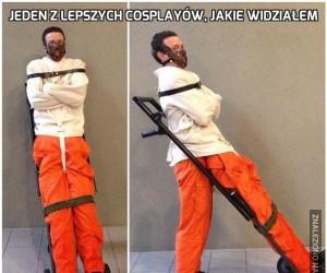 Jeden z lepszych cosplayów, jakie widziałem