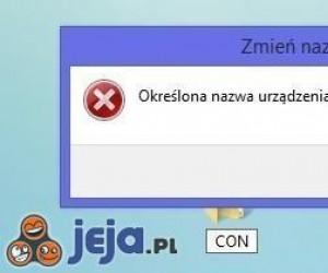 """Czy wiesz że w Windowsie nie możesz nazwać folderu """"CON""""?"""