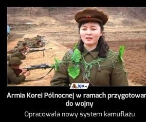 Armia Korei Północnej w ramach przygotowania do wojny