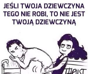 Twoja dziewczyna tak robi?