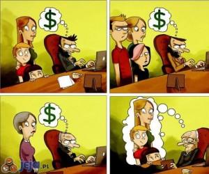 Gdy pieniądze przysłaniają wszystko
