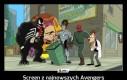 Screen z najnowszych Avengers
