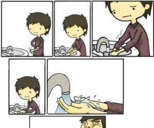 To uczucie, gdy woda wpływa Ci...