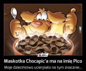 Maskotka Chocapic'a ma na imię Pico