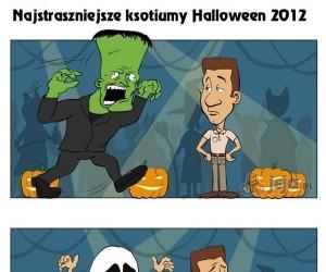 Najstraszniejsze kostiumy Halloween 2012