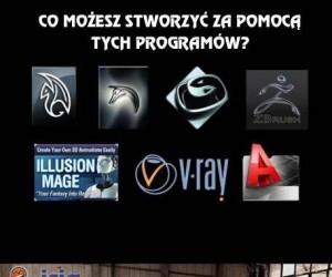 Co możesz stworzyć za pomocą odpowiednich programów
