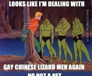 Aquaman i jego przygody