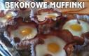 Bekonowe muffinki