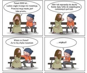 Ciężko jest być Jezusem