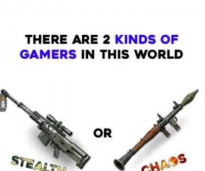 Są 2 rodzaje graczy na tym świecie