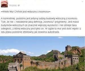 Dobry przykład, dlaczego warto odwiedzić czasem Facebook'a