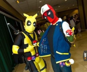Pika pika Deadpool