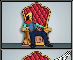 Takie tam, z życia króla