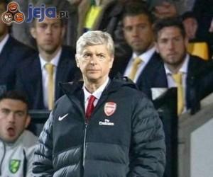 Arsene Wenger i jego kurtka