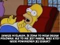 Homer ma problem...
