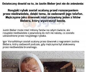 Justin Bieber znów atakuje!