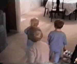 Dzieci kontra pies